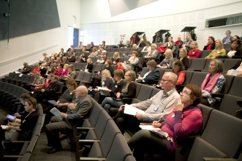 Kongressiin ja juhlavastaanotolle osallistui päivän ja illan aikana noin 120 liiton jäsentä ja yhteistyökummpania.