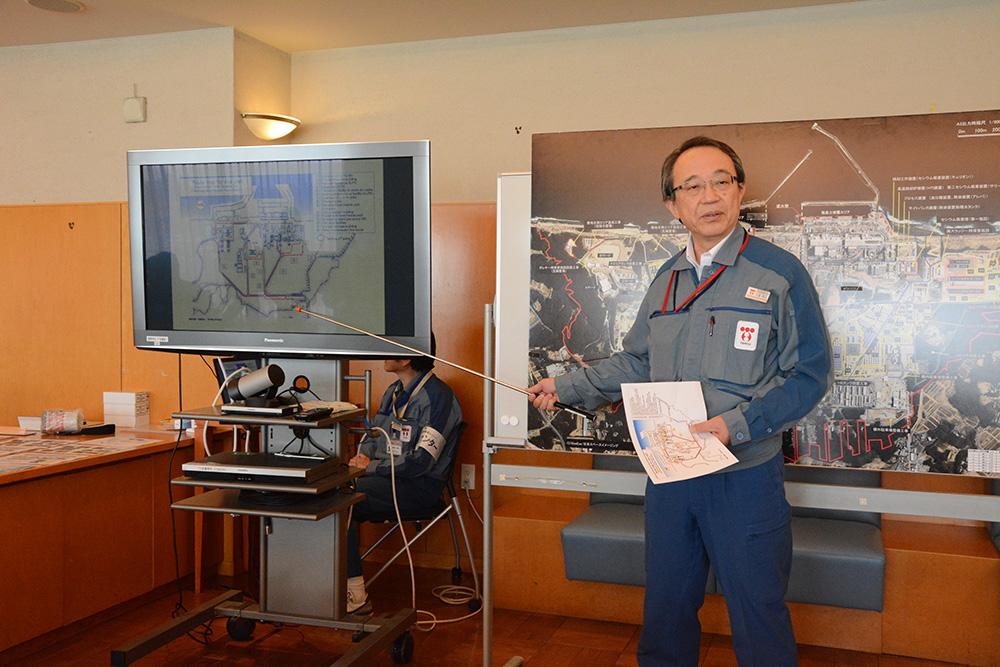 Fukushima 1:n johtajalla Akio Onolla on käsissään valtava sotku. Kuva: Jukka Lehtinen