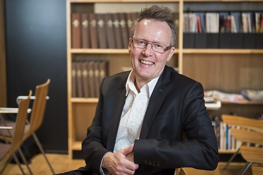 Vuoden tiedetoimittaja 2016 Vesa Vanhalakka Valon päivän juhlassa 3.2. Kuva: Vesa-Matti Väärä.