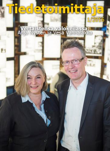 Anja Nystén ja Vesa Vanhalakka (Kuva: Vesa-Matti Väärä)