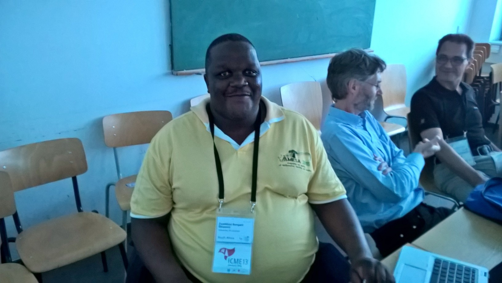 Zwelithini Dhlimini, afrikkalaisen pedagogian vahva mies.