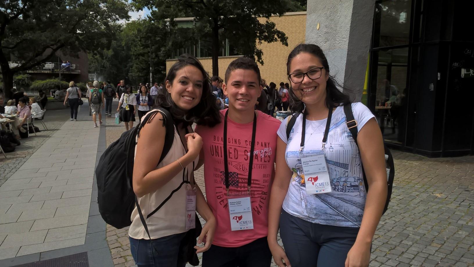 Etelä-Amerikkaa edustivat brasilialaiset Amanda de Madeiros, Rubens Viriato ja Jessica Franca.