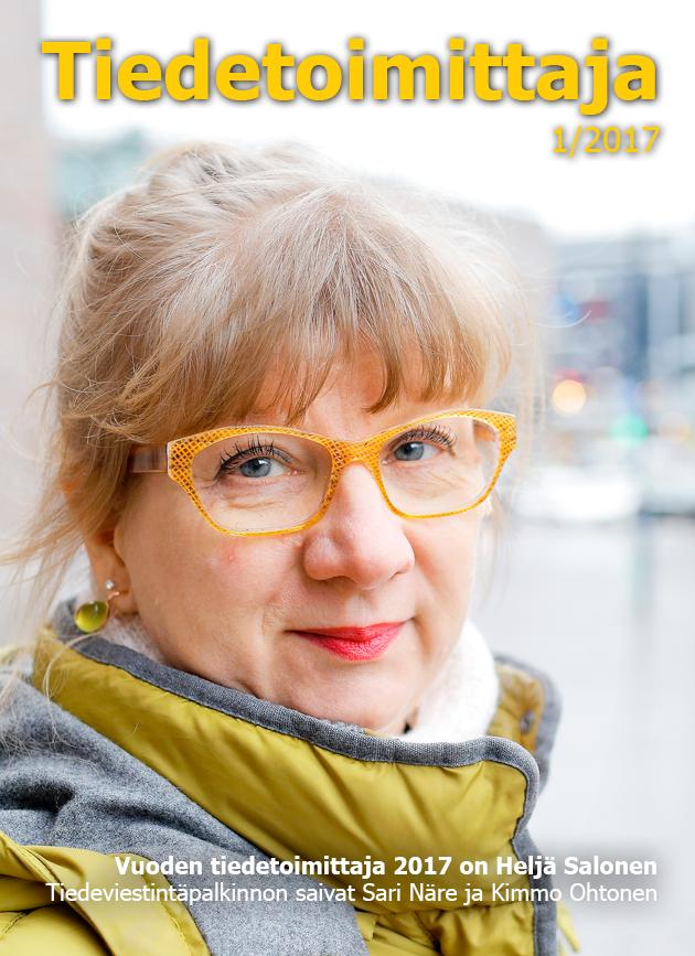 tiedetoimittajan 2017 1 kansi