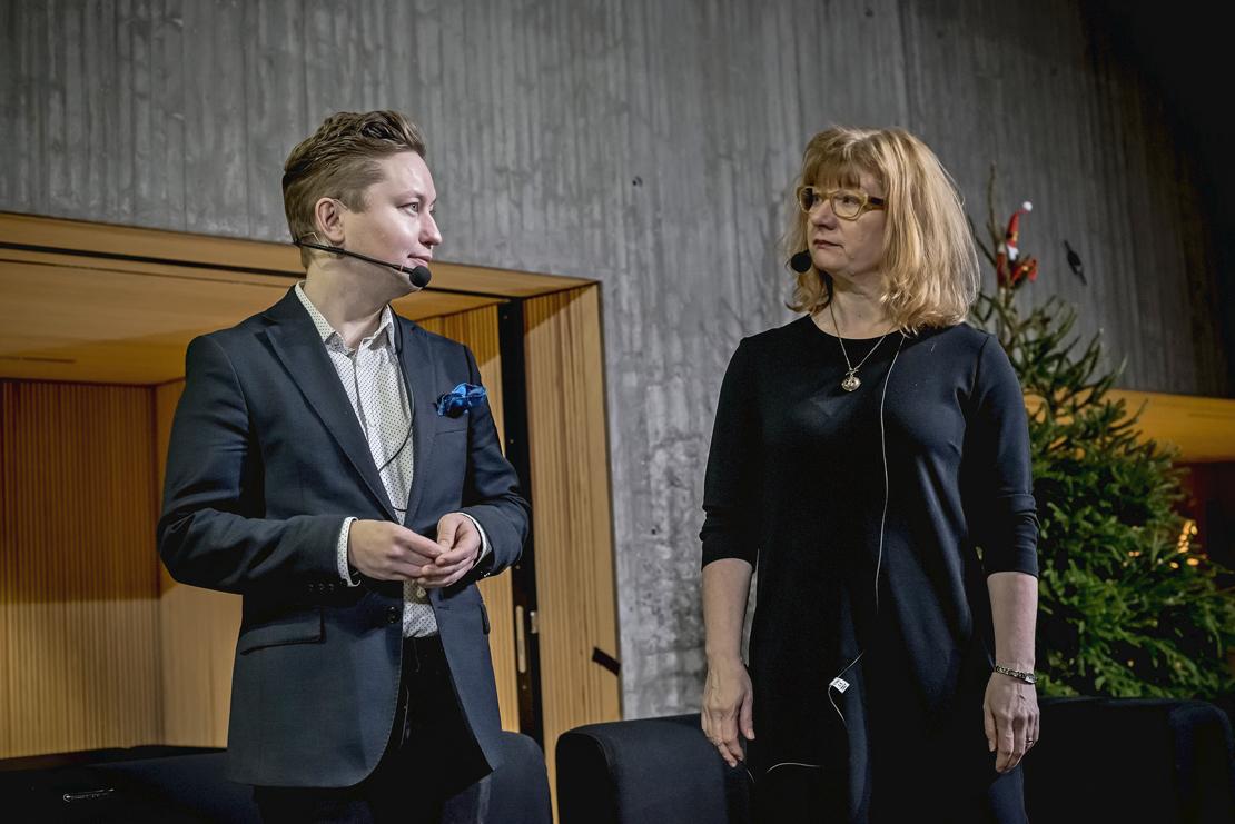 Henrik Rydenfelt ja Heljä Salonen