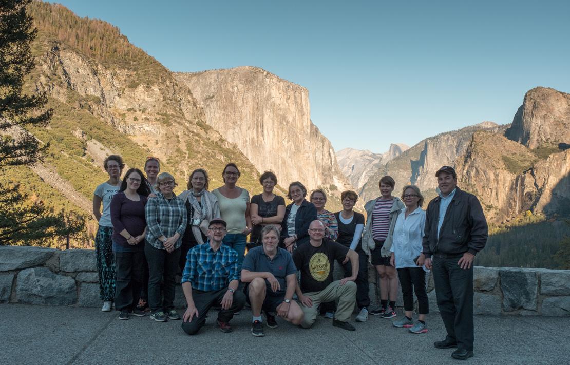 Jylhät kalliot, vesiputoukset ja vuoristoniityt tekivät koko retkueeseemme suuren vaikutuksen.