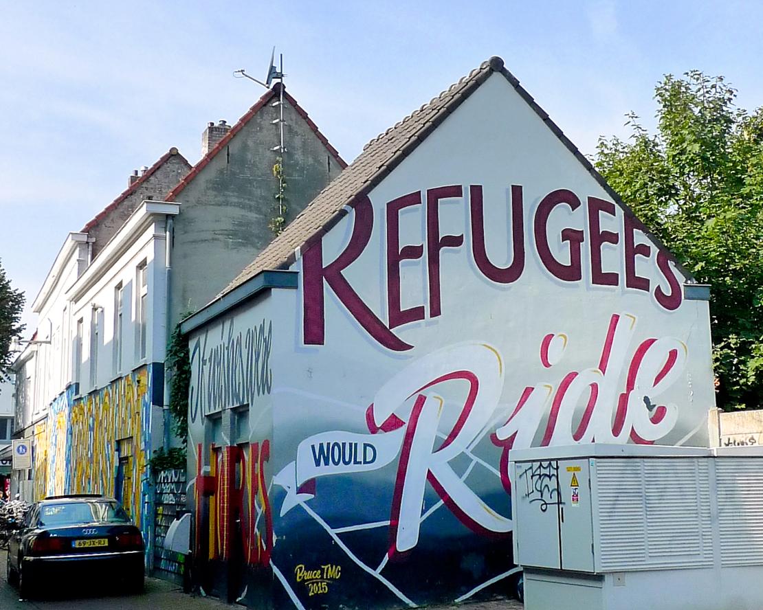 Breda on muraalien kaupunki.