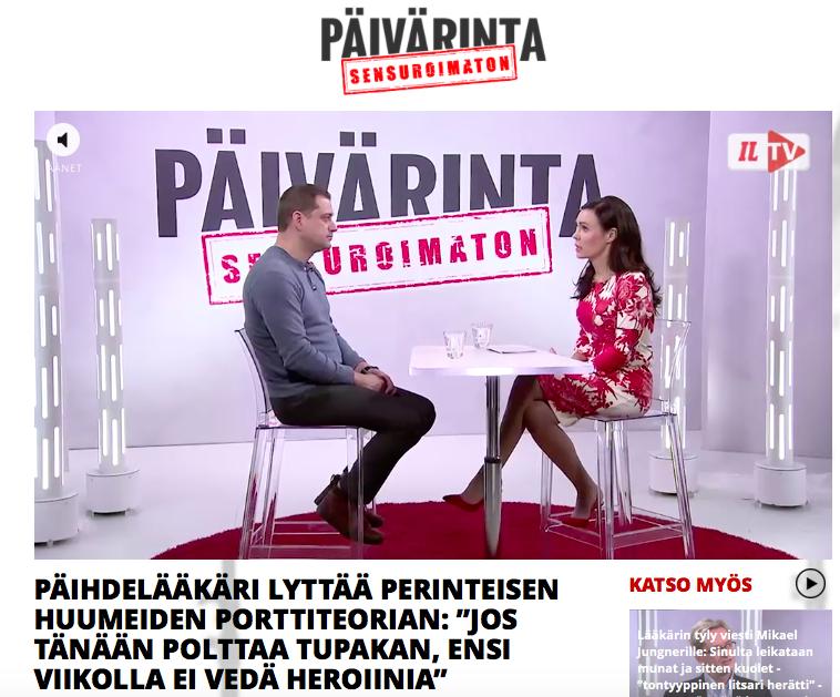 Kaarlo Simojokea haastateltiin Iltalehden Sensuroimaton Päivärinta -ohjelmassa 28.3.2018. Haastattelun pohjalta tehtiin monta erillistä nettijuttua.