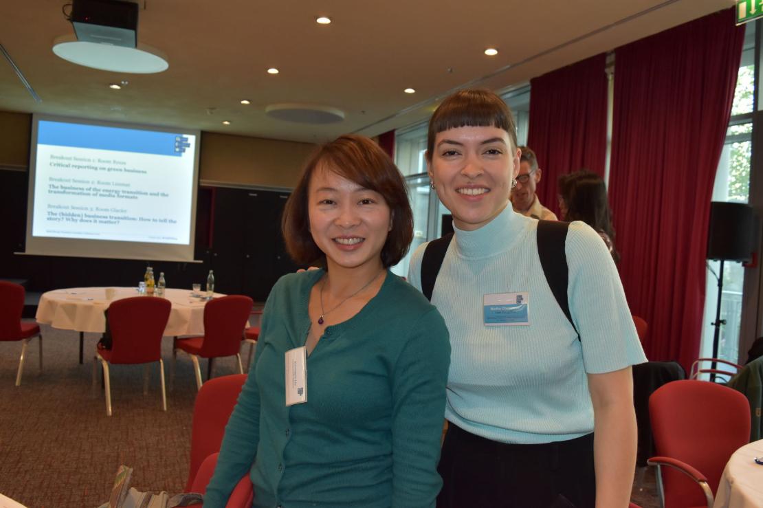 Kwang-Yin Liu (vas.) etsi Saksaan ulottuvalla juttumatkallaan aiheita taiwanilaiseen Commonwealth Magazine-julkaisuun. Ideoinnissa auttoi CLEW-organisaatiossa työskentelevä Martha Otwinowski.