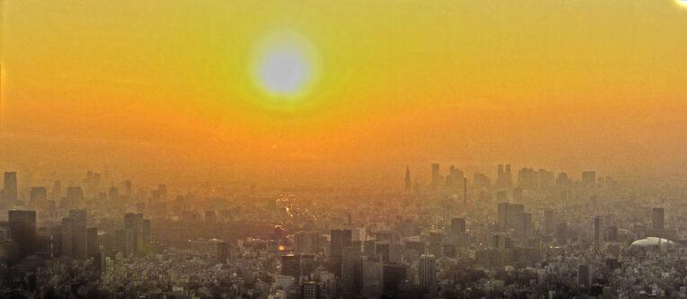 Tokion auringonlasku